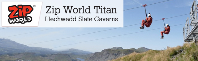 Visit Zip World Velocity and Titan in North Wales, the zip line capital of the world.