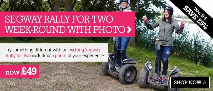 Segway Rally for Two Week-Round Including Photo only £49