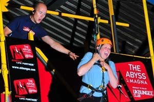 Parachute Simulator Experience for One