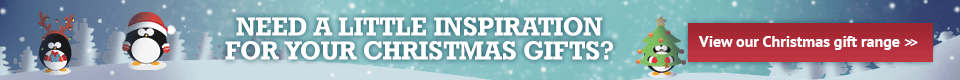 Need a little inspiration for your Christmas gifts? View our Christmas gift range