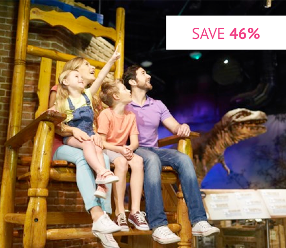 Visit Ripley's Believe it or Not! London for Four Was £111.96 Now £60