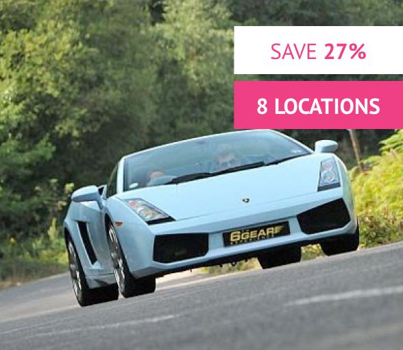 Lamborghini Gallardo Junior Drive Was £95 Now £69