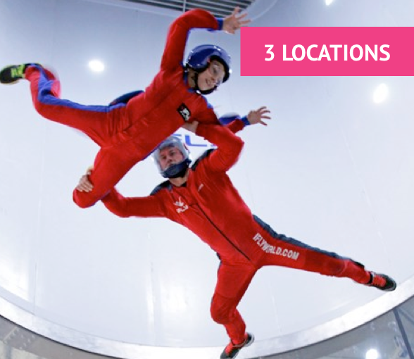 iFLY Indoor Skydiving Only £49