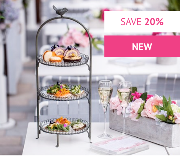 Sparkling Afternoon Tea for Two at Aster Restaurant - Was £44 With code £35.20