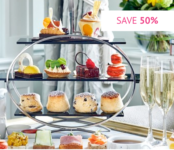 Chocoholic Afternoon Tea for Two at The London Hilton Park Lane - Was £78 With Code £39.20