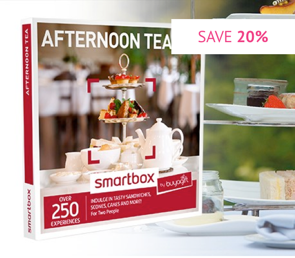 Afternoon Tea - Smartbox by Buyagift - Was £34.99 With code £27.99