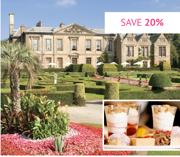 Afternoon Tea for Two at Coombe Abbey - Was £39 With code £31.20