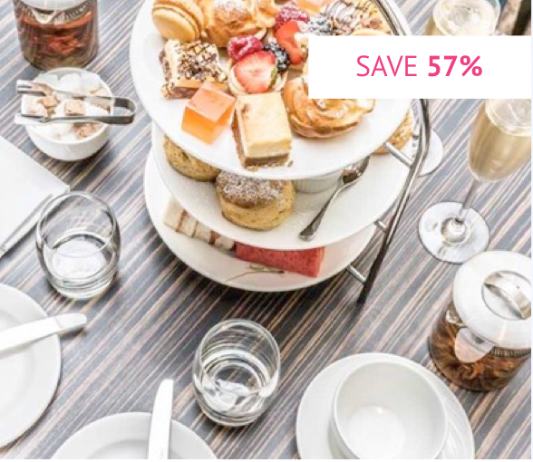 Sparkling Afternoon Tea for Two at The Montcalm, Marble Arch - Was £73 With code £31.20