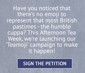 Can you believe there isn't a tea emoji? Sign the petition