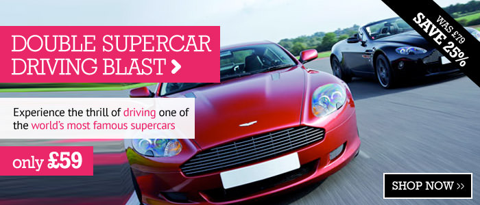 Double Supercar Driving Blast only £59