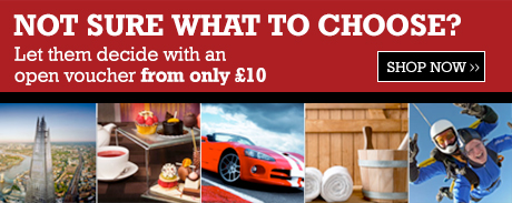 Not sure what to choose? Let them decide with an open voucher from only £10