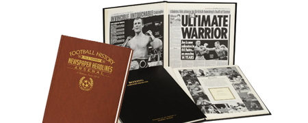 Personalised Sporting Books